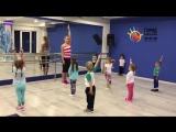 Детский фитнес в Городе развлечений