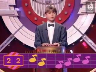 Сергей Лазарев в 13 лет, 1996 год.