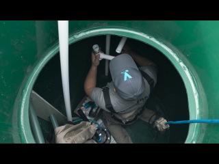 Обустройство скважины на воду с пластиковым кессоном Компания МОСОБЛБУР