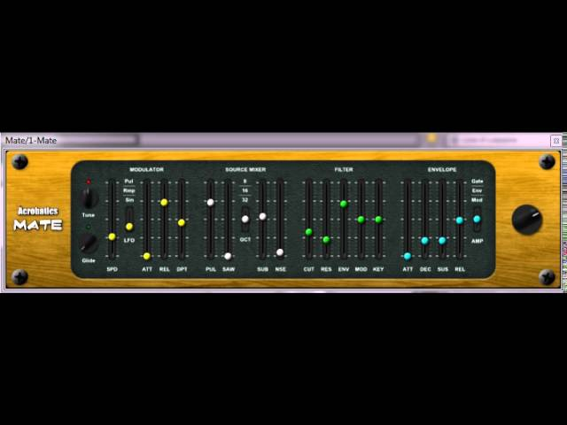Mate - Free Analogue VST Plugin