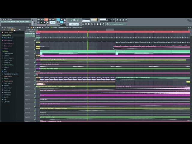 Teramite Starlight Melodic Dubstep FL Studio 12 Playthrough