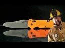 Американский пожарный тестирует нож Benchmade 915 Triage Blade HQ на русском Перевод Zёбры