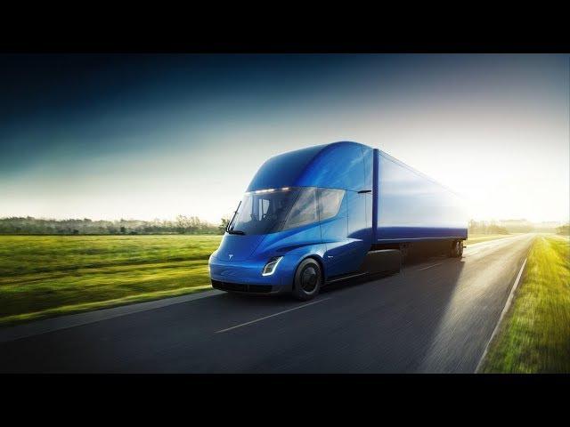 Тесла показала первый в мире Электрический грузовик. Революция в мире Дальнобоя!