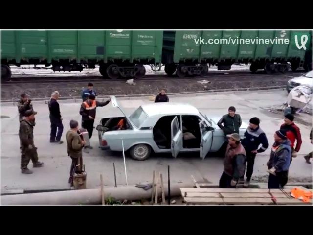 Башкирская бригада едет на работу! =)