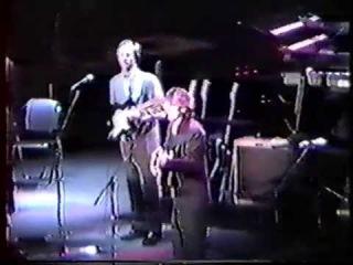 George Harrison Eric Clapton at Osaka Castle Hall on 12-10-91 part 1