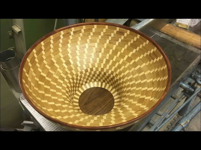 Segment Skål 15 | Segmented Bowl | Woodturning