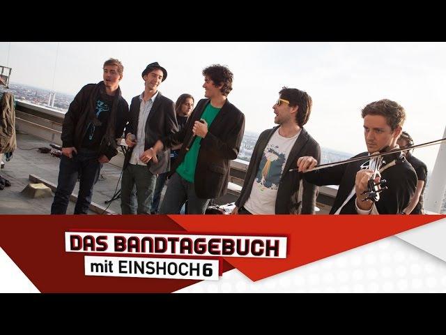 Deutsch lernen mit Musik (B1B2) | Das Bandtagebuch mit EINSHOCH6 | Berlin, Berlin!