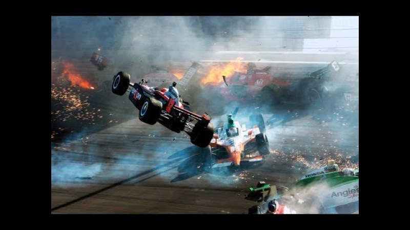 1 ) CRASH ACTION - Heavy blows racing drivers - NASCAR / Formula 1 / RALLY / AND OTHERS 2017