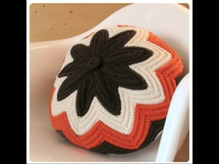 Cojines de ganchillo elegantes. Elegant crochet pillow. Crochet cushion. Gali Craft