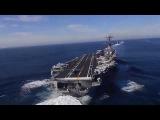 USS Carl Vinson CVN-70 авианосец у берегов КНДР