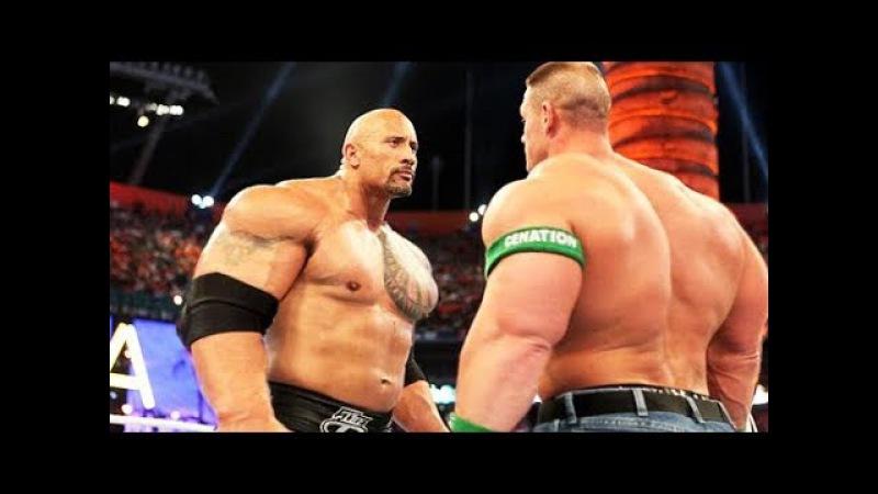 Dwayne The Rock Johnson vs John Cena - Monster vs Monster