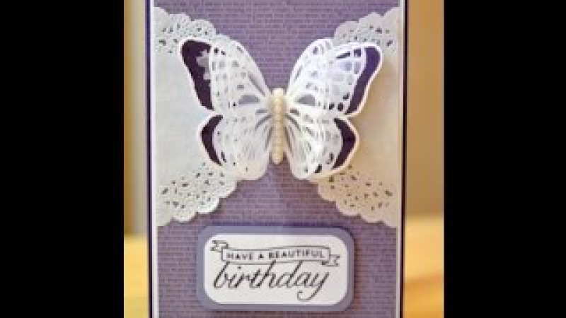 No.83 - Triple Layer Vellum Butterfly Wings - JanB UK Stampin' Up! Demonstrator Independent