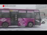 Север Китая завалило снегом