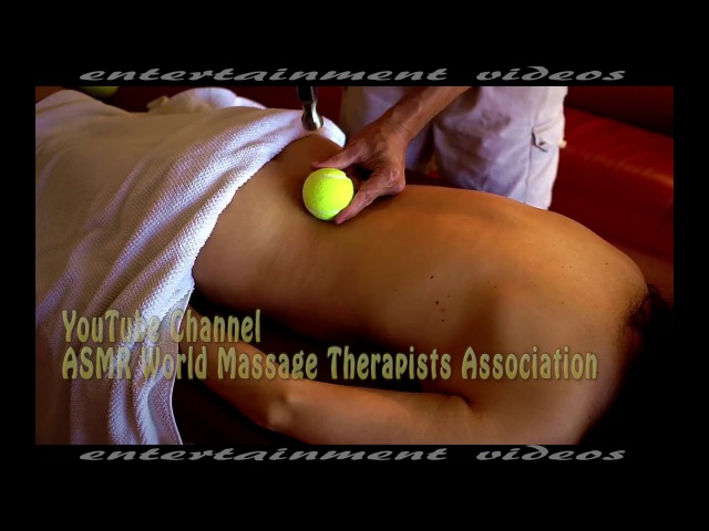 What an Amazing Treatment For Deep Muscles of Back Massage Asmr
