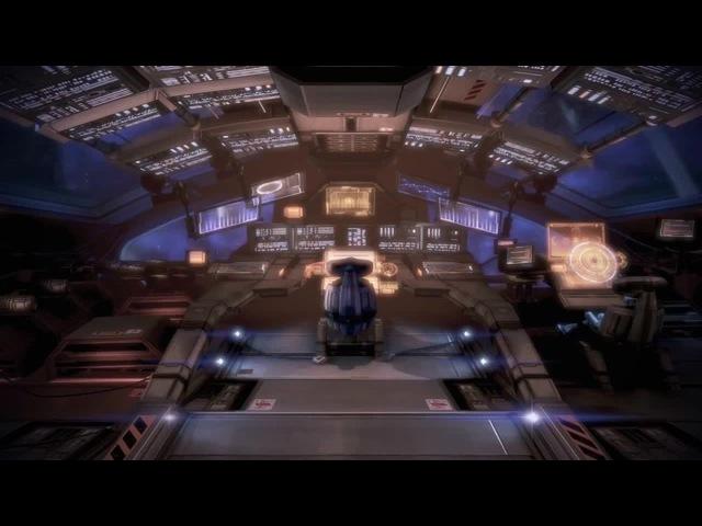 Mass Effect 3 The Normandy SR2 Cockpit · coub, коуб