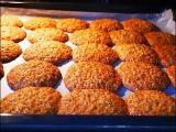 ОВСЯНОЕ ПЕЧЕНЬЕ рецепт на КЕФИРЕ выпечка на кефире ПРОСТОЙ рецепт печенье овсян...