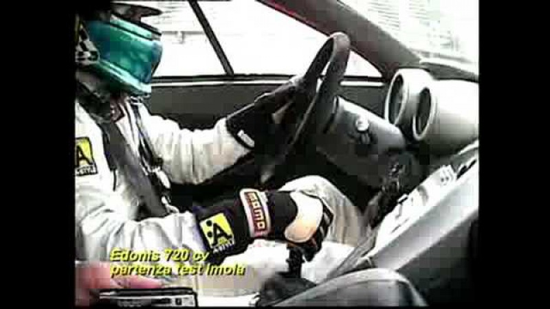 Edonis 720 Cv partenza test per TV Imola 2006 / Checco