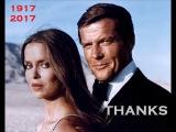 In Memoriam Sir Roger Moore 1927-2017 RIP, THANKS James Bond 007 El Saint