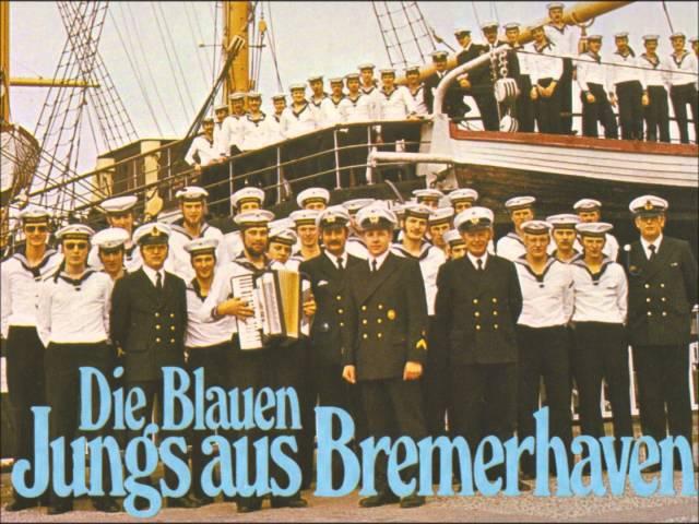 Die Blauen Jungs aus Bremerhaven - Nimm' uns mit, Kapitän, auf die Reise