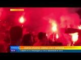 Испанские полицейские избили фанатов  Спартака  после матча с  Севильей