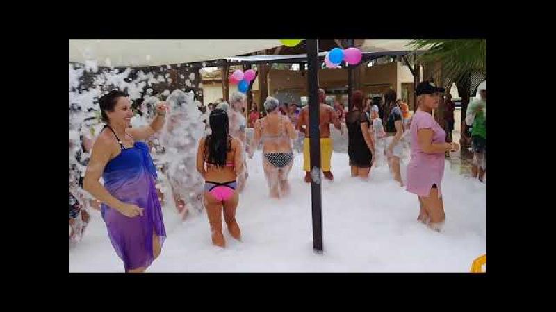 Hôtel Marhaba Resort, Sousse, Tunisie russian foam party