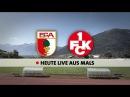 Der FC Augsburg testet gegen den 1. FC Kaiserslautern