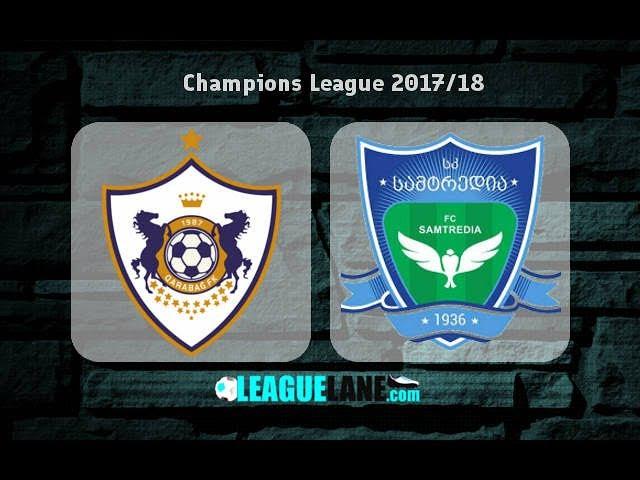 Qarabag 5-0 Samtredia ★ Full match HD ★ UCL 2017/18 by Az Scout