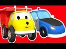 полицейская машина учим цвета вместе с грузовичком Игорем Развивающий мультик для детей