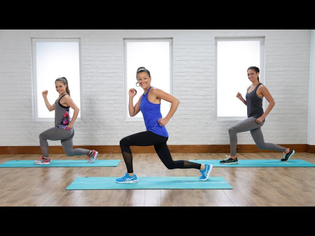 Anna Renderer - 20-Minute Tabata Workout: Tap Every Muscle Group (Popsugar)