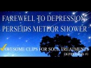 Farewell to DEPRESSION - Perseids meteor shower  [DEPRESSION #1]