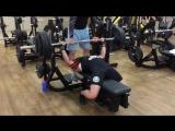 Анохин Илья, жим 165 и 170 кг