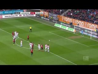 Аугсбург - Фрайбург 1:1 видео