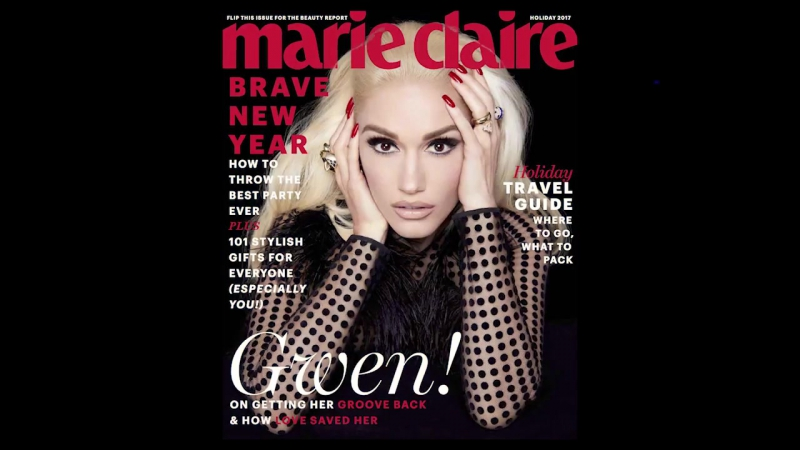 Gwen Stefani ¦ Behind the Scenes ¦ Marie Claire