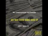 Нефть,газ,уголь,золото,металлы,минералы — природные ресурсы делают россиян сказочно богатыми. Кто же эти россияне и сколько их?
