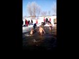19.01.2017 купання на Водохреща
