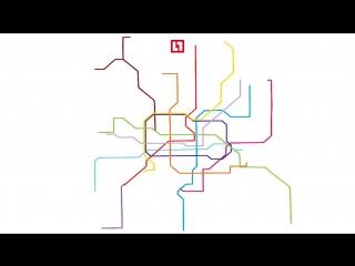 Как схемы метро вводят вас в заблуждение