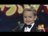 6-ти летний Гордей Колесов на центральном ТВ Китая!