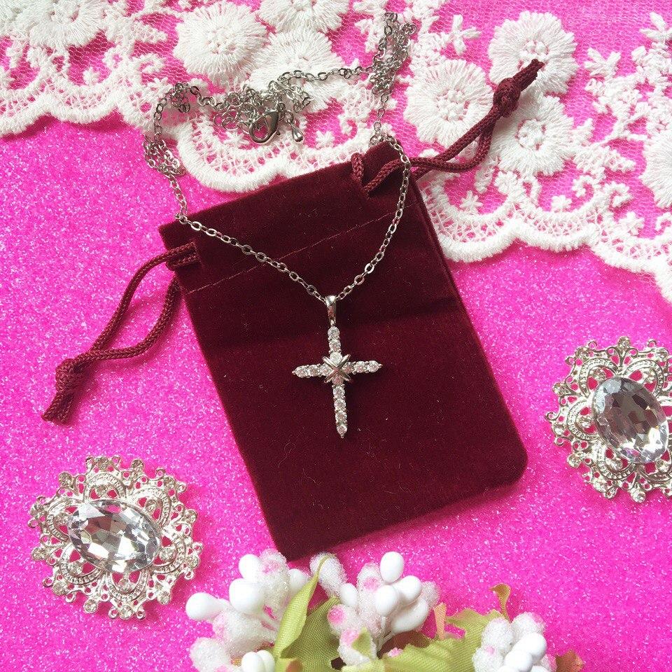 Серебряный крестик из магазина HERFANS JewelryFactory Store