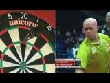 Michael Van Gerwen vs Raymond Van Barneveld (Dubai Duty Free Darts Masters 2017  Quarter Final)