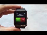 Умные смарт часы с сим картой IOS и Android Smart Watch GT08 часы телефон
