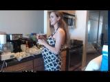 Jessie Rogers - Беременная Блядь На Кухне (07.10.2017) - Twitch.tv