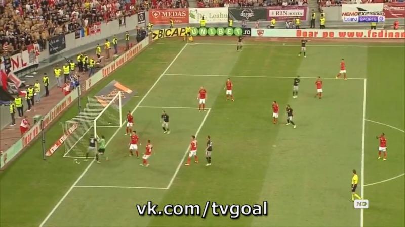 Динамо Бухарест 0 1 Атлетик Лапорт