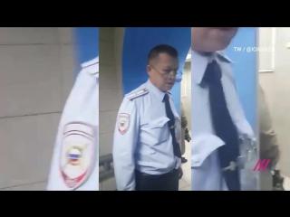 Задержание Леонида Волкова