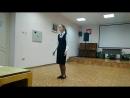 Конкурс чтецов - Береговая Алёна 8 Б - За подбор репертуара