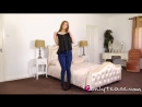 ONLYTEASE - SUMMER ST CLAIRE IN JEANS STRIPTEASE 1