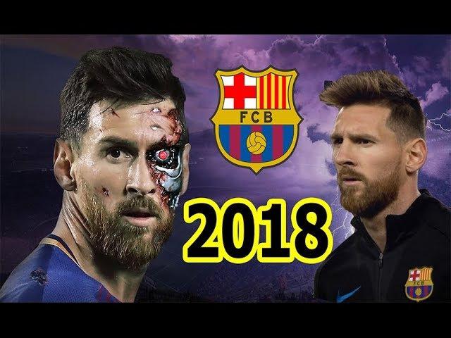 Лео Месси ●Терминатор 2017/2018 года финты и голы /Lionel Messi 2017-2018 ● Goals/Skills/Assists ●