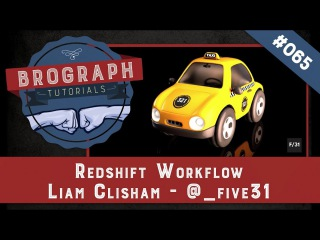 Brograph Tutorial 065 - Redshift Workflow
