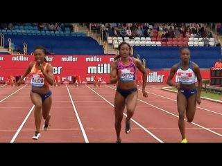 Elaine Thompson vs Marie-Josee Ta Lou in 100m Final - Birmingham Diamond League 2017