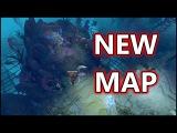 New Dota 2 Battle Pass Map (Terrain): Reefs Edge !!!