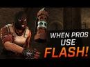 CS:GO - When PROS Use FLASH (Fragmovie)
